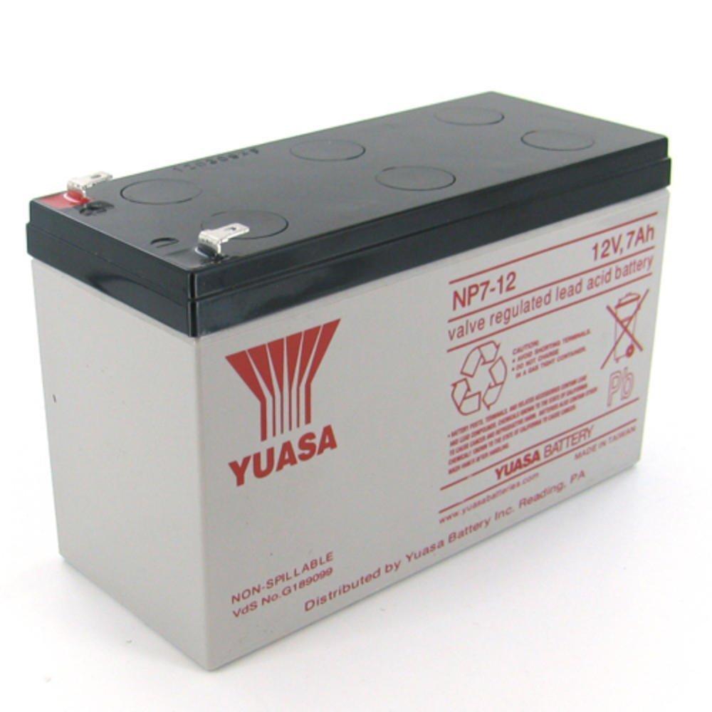 แบตเตอรี่ แห้ง 12v ไฟฉุกเฉิน yuasa np7-12
