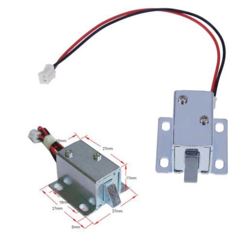 Magnetic Lock Electric Universal 6 / 12V Mini for Door Window Cabinet RFID