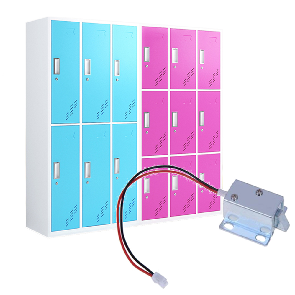 Magnetic Lock Electric Universal 6 / 12V Mini for Door Window Cabinet RFID