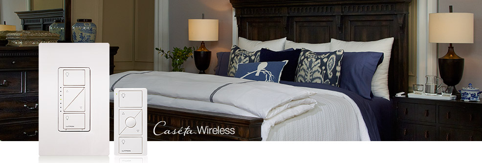 LUTRON Caséta Wireless dimmers